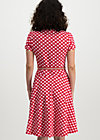 mze kze dress, spot the dot, Kleider, Rot