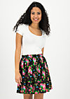 summerbreeze daydream skirt, garden of joy, Skirts, Black