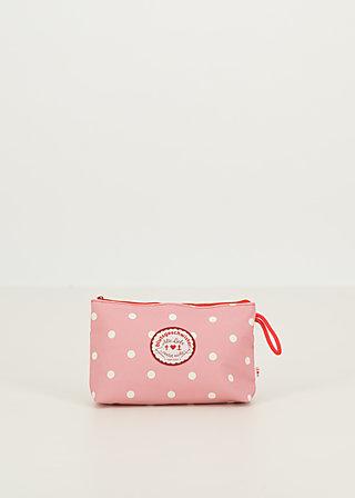 sweethearts washbag, rose dot, Accessoires, Rosa