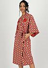 wellness kimono jersey, mariandls chalet, Accessoires, Rot
