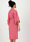 wellness kimono jersey, spot the dot, Accessoires, Red