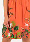 Summer Dress botanical attraction, tropical heat, Dresses, Red