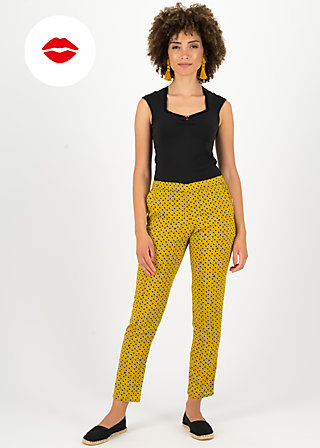 careless lightweight pants, palm springs, Trousers, Yellow