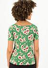 carmelita tee, floral florida, Shirts, Grün