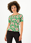 Off-the-shoulder Top carmelita, floral florida, Shirts, Green