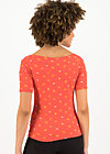 Off-the-shoulder Top carmelita, orange dot com, Shirts, Red