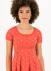 Sommerkleid coast cottage, orange dot com, Kleider, Rot