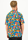 florida fruits shirt, florida lady, Blutsbruder, Blau