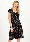heart on fire robe, flowmingo, Dresses, Black