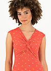 Sleeveless Top high end, orange dot com, Shirts, Red