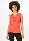 high end tank, orange dot com, Shirts, Red