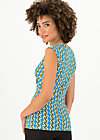 Sleeveless Top high end, tendril tarzan, Shirts, Blue