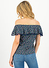 Off-the-shoulder Top oh la lure, beach berry, Shirts, Blue