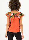 oh la lure shirt, tropical heat, Shirts, Red