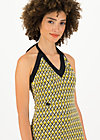 Halterneck Dress palo santos, tiki gold, Dresses, Yellow