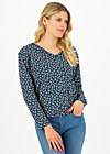 Sweater pure cure, beach berry, Pullover & Sweatshirts, Blau