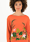 pure cure pullover, tropical heat, Pullover & leichte Jacken, Rot