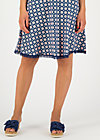Jersey Skirt secret showgirl, fresh breeze, Skirts, Blue