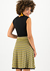 Jersey Skirt secret showgirl, tiki gold, Skirts, Yellow