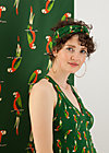 sunset knot hairwrap, parrot parody, Accessoires, Green