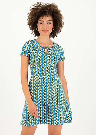 sunshine boulevard dress, tendril tarzan, Kleider, Blau