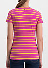 breton heart tee, sweet stripes, Shirts, Red