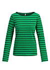 breton marine longsleeve, jolly stripes, Shirts, Grün