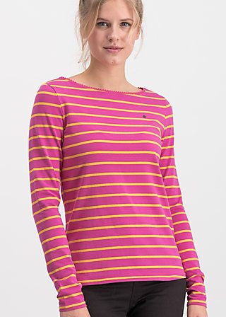 breton marine longsleeve, sweet stripes, Shirts, Red