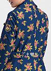 casablanca souvenir trench , floral stellar, Jackets & Coats, Blue
