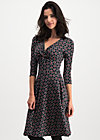 cold days hot knot robe, super cherry dot, Dresses, Black
