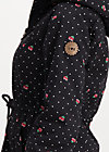 cornucopia of joy parka, super pixel cherry, Jackets & Coats, Black