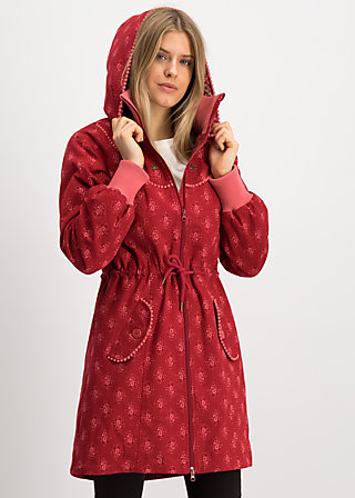 cornucopia of joy parka, super romantic, Jackets & Coats, Red