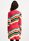 farewell summer robe, super rainbow stripes, Kleider, Rot