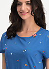 favorite stuff  tee, super easy, Shirts, Blau