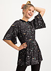 heart full of joy tunique, super universe, Blouses & Tunics, Black