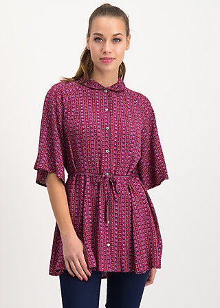 heart full of joy tunique, super fruits, Blouses & Tunics, Red