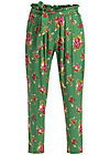 high flying beauty pants, super bouquet, Trousers, Green