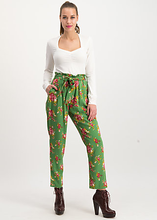 high flying beauty pants, super bouquet, Hosen, Grün