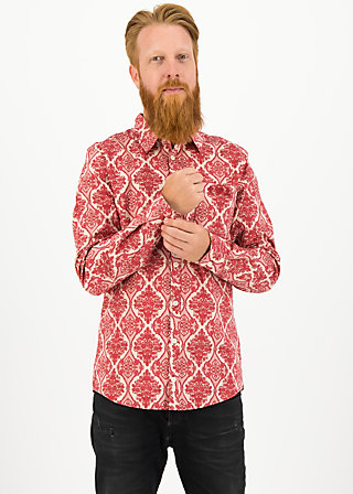 Shirt just super, super ornamental, Blutsbruder, Red