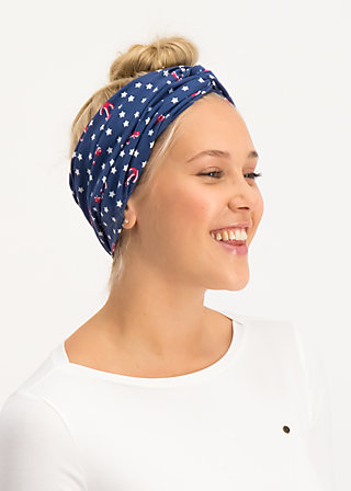 knot of knowledge hairband, super star, Accessoires, Blau
