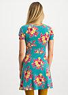 la petite robe, super retro bouquet, Dresses, Turquoise