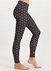 ladylaune legs, super cherry dot, Leggings, Black