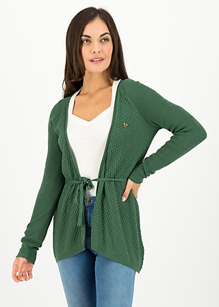light hearted envelope cardy, green cosy knit, Pullover & leichte Jacken, Grün
