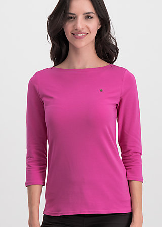 logo 3/4 sleeve, back to pink, Shirts, Rosa