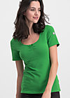 logo balconette tee, back to green, Shirts, Grün