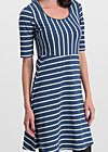 logo breton dress, maritim stripes, Kleider, Blau