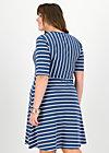 logo breton dress, maritim stripes, Kleider, Blau