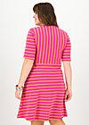 logo breton dress, sweet stripes, Kleider, Rot