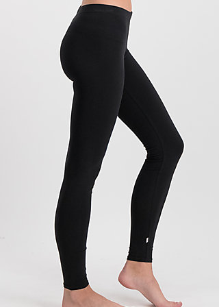 logo leggings, back to black, Leggings, Black