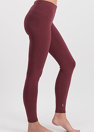 logo leggings, back to bordeaux, Leggings, Rot